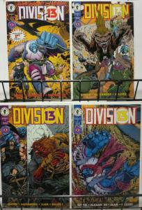 DIVISION 13 (1994 DH) 1-4  KEITH GIFFEN complete story!