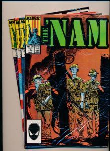 MARVEL Comics SET of 4!! The NAM #5-#8 VERY FINE/NEAR MINT (HX807)