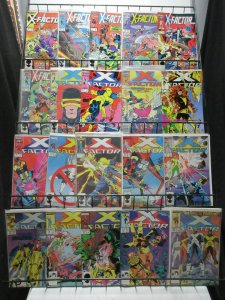 X-Factor (Marvel 1986-98) Mini-Library Lot of 139Diff from #2-149 Cyclops Havok