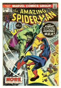 Amazing Spiderman 120   Hulk vs Spiderman