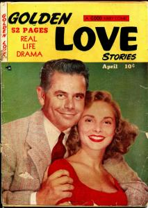 Golden Love Stories #4 1950-Kirby-1st & only issue-Glenn Ford-Janet Leigh-FR/G