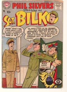Sergeant Bilko (1957 series) #2, VG- (Actual scan)
