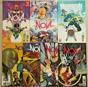 NOVA#1-7 VF/NM LOT 2015 MARVEL COMICS