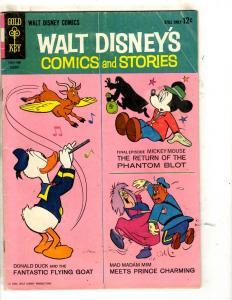 Lot Of 8 Walt Disney's Comics & Stories Gold Key Books # 11 5 12 5 3 12 1 7 JL30