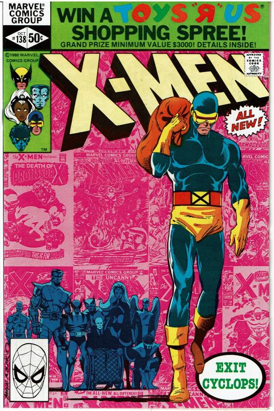 X-Men #138, 9.4 or better