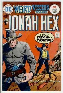 WEIRD WESTERN Tales #29, Jonah Hex, Origin,1972, FN+