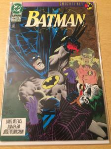 Batman #496 Knightfall