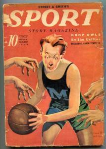 Sport Story Pulp 2nd January 1939- Jim Usilton