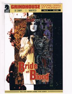 Grindhouse # 6 VF 1st Print Dark Horse Comic Book Doors Open At Midnight S64