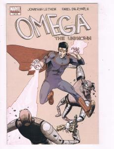 Lot Of 3 Omega The Unknown Marvel Comic Books # 1 2 3 Spider-Man Hulk Thor J43