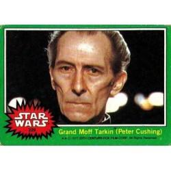 1977 Topps Star Wars GRAND MOFF TARKIN (PETER CUSHING) #229 EX/MT