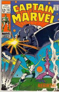 Captain Marvel #11 (Mar-69) VF/NM High-Grade Captain Marvel