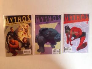 Mythos Fantastic Four Hulk Spider-man Near Mint Lot Set Run