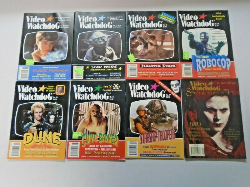 LOT of Popular Movies + Special Edition 8 Different Average 6.0 FN (1993-1998)