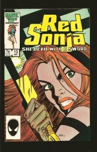 Marvel Comics Red Sonja Vol 3 No 13 May 1986