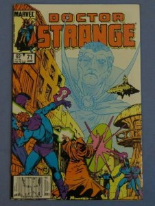 Doctor Strange Issue #71 Marvel Comic Book Signed by Paul Smith Inside Page L@@K