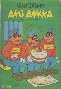 Walt Disney's Aku Ankka (1980) #34 VG; Sanoma | low grade comic - save on shippi