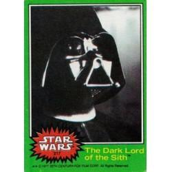 1977 Topps Star Wars THE DARK LORD OF THE SITH #217 EX/MT