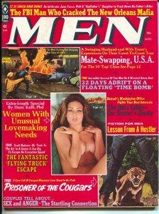 Men 8/1972-Pussycat by Bill Ward-scandal-pulp thrills-FBI-Mafia-cheesecake- FN