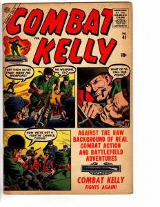 COMBAT KELLY (1951-1957) 41 VG-F February 1957