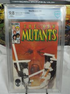 New Mutants #26 (1985) - CBCS 9.8 - 1st Full Appearance of Legion