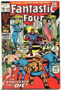 FANTASTIC FOUR #104 1970-John Romita -MARVEL VG+