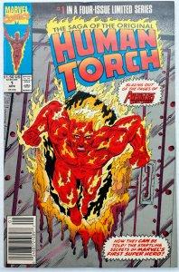 Saga of the Original Human Torch #1-4 (1990)