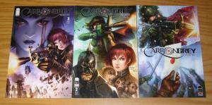 Carbon Grey vol. 2 #1-3 VF/NM complete series - image comics - all B variants