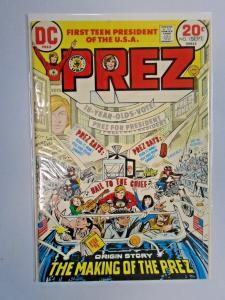 Prez #1 - see pics - 6.0 - 1973