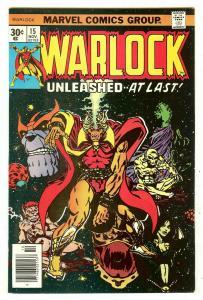 Warlock 15   Thanos cover