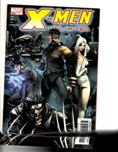 Lot Of 9 X-Men Unlimited Marvel Comic Books # 1 2 2 3 4 5 6 7 9 Wolverine MF12