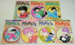 Ranma 1/2 #1-7 VF/NM complete series - viz manga - rumiko takahashi set lot