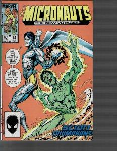 Micronauts #14 (Marvel, 1985)