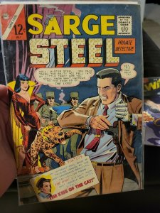 Sarge Steel #4 (Charlton) July 1965, Dick Giordano art Condition: Good