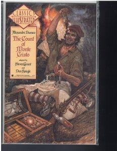 Classics Illustrated: #7 Count of Monte Cristo (First Comics, 1990)