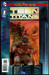 Futures End Teen Titans 3-D Cover (2014, DC) 9.6 NM+