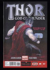 Thor God of Thunder (2013) #7 NM- 9.2 1st Print