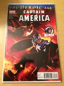 Captain America #607