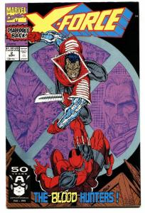 X-FORCE #2-comic book SECOND DEADPOOL-MOVIE COMING!-HIGH GRADE-MARVEL!!