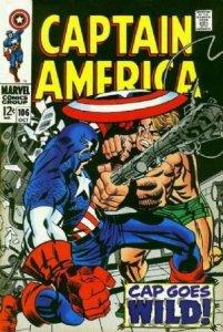 Captain America #106 (ungraded) stock photo / SCM / 002