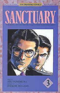 Sanctuary Part 1 #3 VF/NM; Viz | save on shipping - details inside