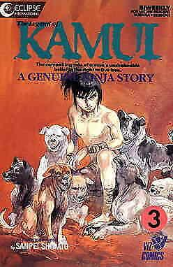 Legend of Kamui, The #3 (2nd) VF/NM; Eclipse   save on shipping - details inside