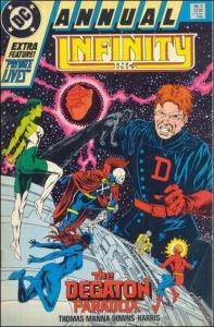 DC INFINITY INC. (1984 Series) Annual #2 VF/NM