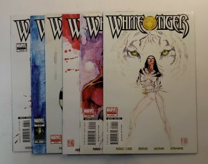 WHITE TIGER #1-6 COMPLETE SET MARVEL COMICS 2007 VF/NM