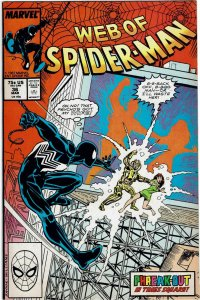 Web of Spider-Man #36 1st Tombstone NM