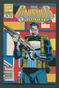 Punisher #64 / 7.5 VFN-  Newsstand  June 1992