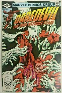 DAREDEVIL#180  VF 1982 FRANK MILLER MARVEL BRONZE AGE COMICS