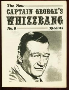 CAPTAIN GEORGES WHIZBANG #8-JOHN WAYNE-SHADOW VG/FN