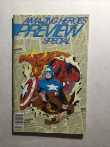 Amazing Heroes Preview Special 170 Near Mint Nm Marvel