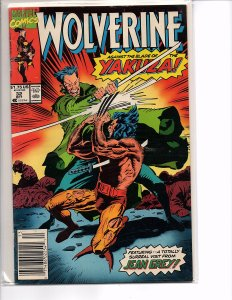 Marvel Comics Wolverine #32 Larry Hama Marc Silvestri NM